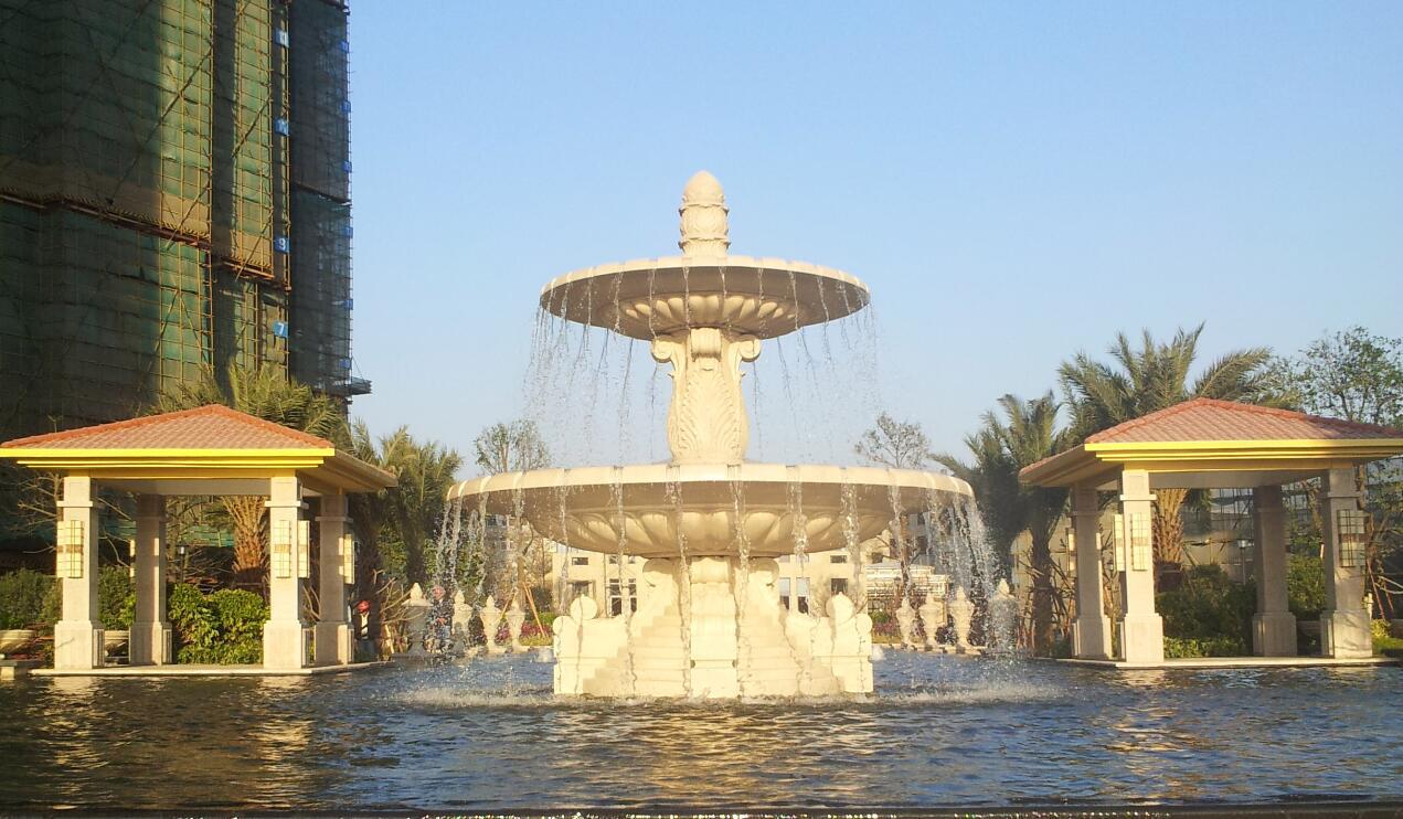喷泉池钵1
