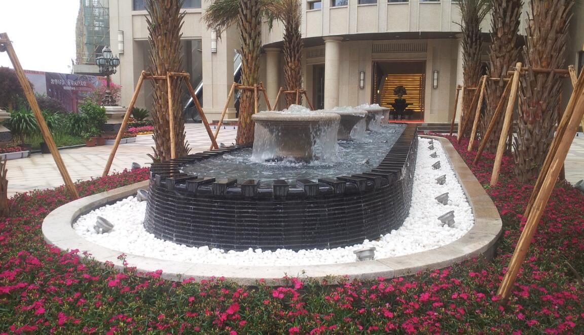 喷泉池钵3