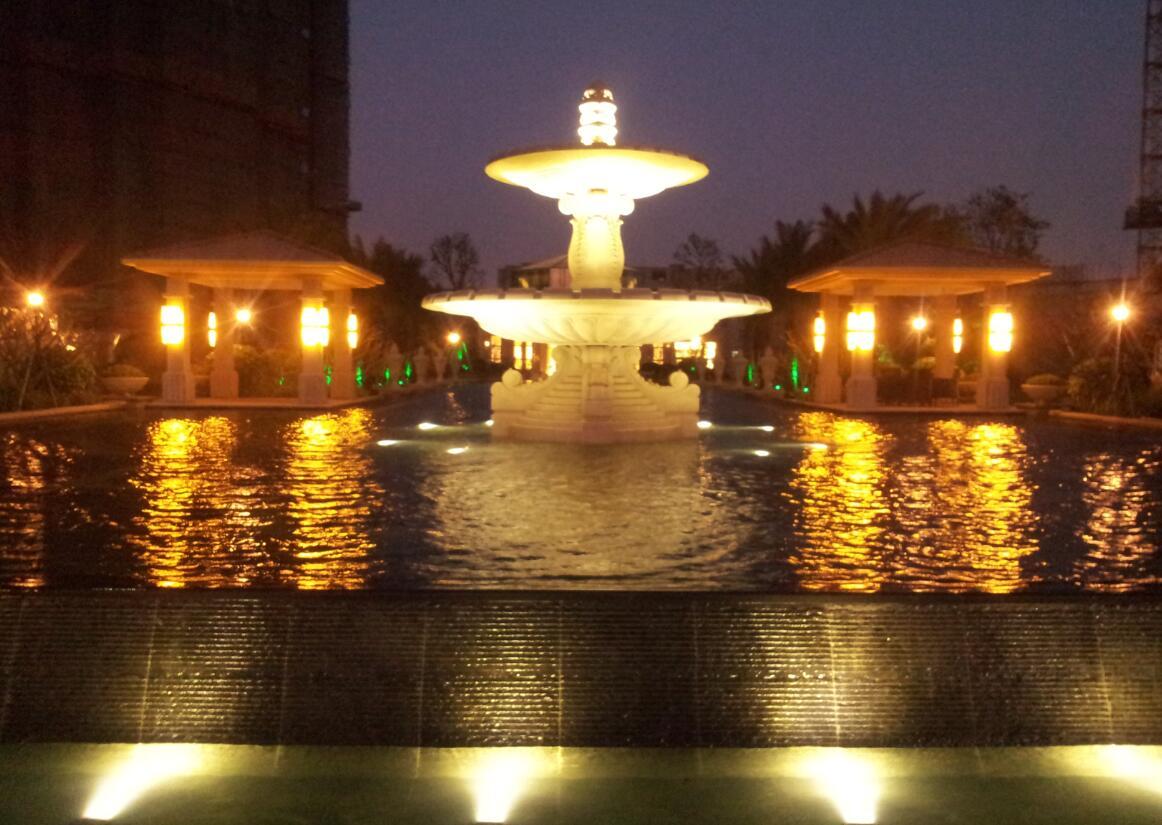 喷泉池钵2